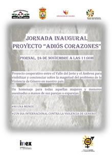 """Comienza en Piornal el proyecto """"Adiós Corazones"""""""